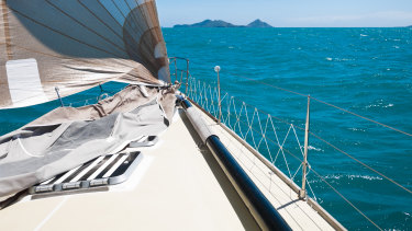 Charter boats are allowed only one person every two square metres.