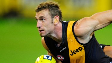 """Jack Riewoldt described the late Shane Tuck, pictured, as """"extremely loveable""""."""