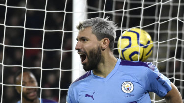 Manchester City's Sergio Aguero is among the players who have admitted to fears over restarting play.