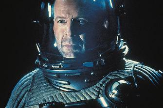 Life imitating fiction: Bruce Willis in Armageddon.