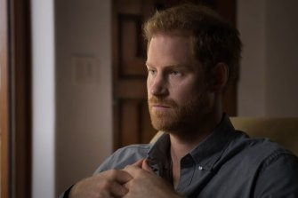 Prince Harry talks to Oprah Winfrey as part of their new mental health series, The Me You Can't See.