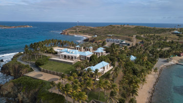 Jeffrey Epstein's home sits on the island of Little St James in the US Virgin Islands. It was one of many homes owned by the hedge fund manager.