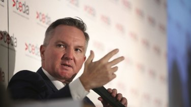 Shadow treasurer Chris Bowen.