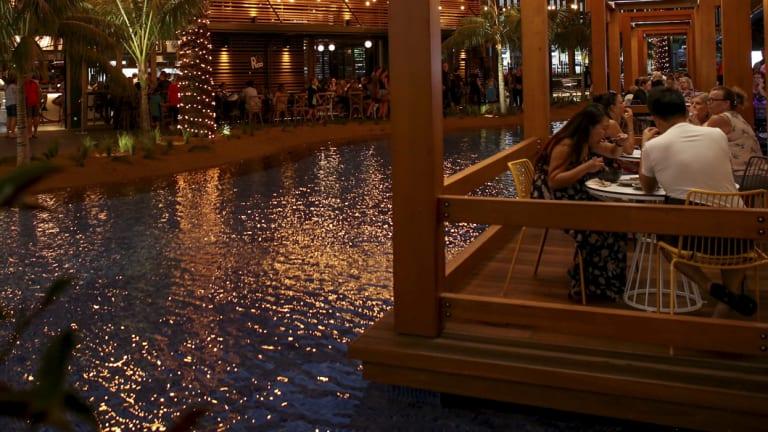 Mandurah Forum's multi-million-dollar transformation includes more attractive dining options.