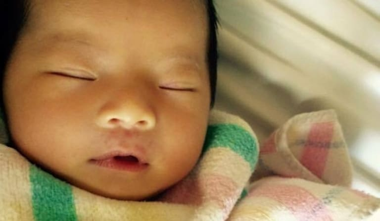 Two-month-old Queenie Xu was stabbed to death at her home in Brisbane's south.