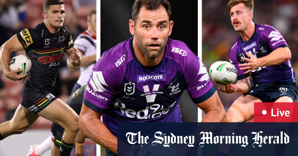 NRL grand final 2020 LIVE: Penrith Panthers v Melbourne Storm – The Sydney Morning Herald
