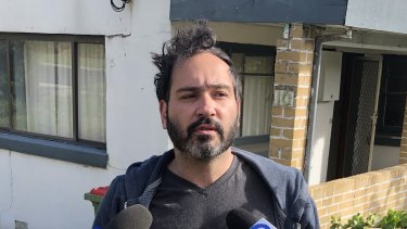 Local resident James Tedesco witnessed the incident at Fabian Court, Maribrynong.