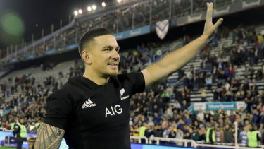Broadening his horizons: Sonny Bill Williams is studying for his level-three league coaching certificate.