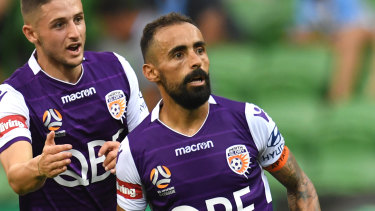 Diego Castro has won Glory's MVP but the captain wants to really win the A-League championship.
