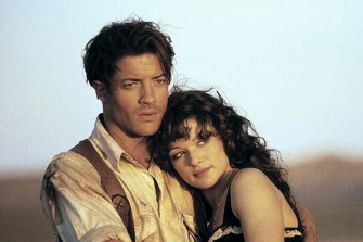 The Mummy, Rachel Weisz's 1999 breakthrough film.