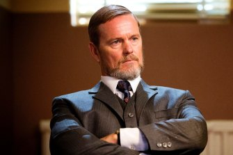 Craig McLachlan in The Dr Blake Mysteries.