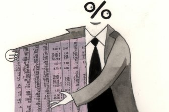 ETFs are ideal for people who want to have an interest in the market, yet be unconcerned about its day-to-day gyrations. Illustration: Simon Letch