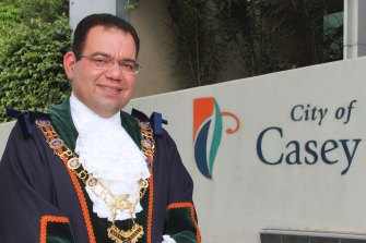 Casey councillor and former mayor Sam Aziz.