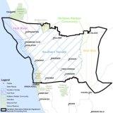 The Southern Yamatji native title claim area.