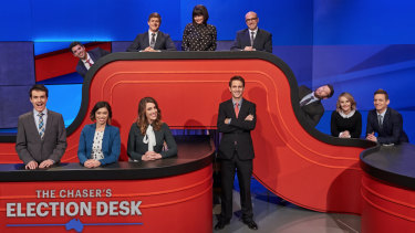 The Chaser's Election Desk special in 2016.