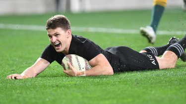 Historian: Beauden Barrett is back in the line-up and within sight of another record.