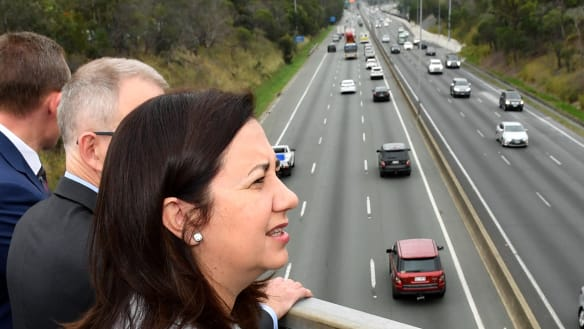 Premier commits almost $900 million in state budget to M1 work