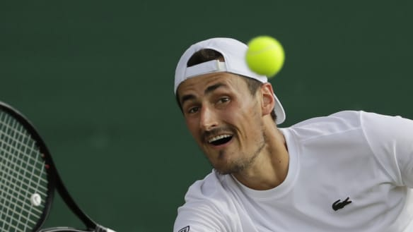 Tomic comes back from match point down to win in Chengdu