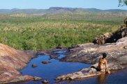 7. Gunlom Plunge Pool - supplied Tourism NT Swimming in Gunlom Falls upper pool str20-trav10swims