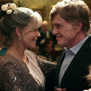 Jane Fonda and Robert Redford played two older people finding love in the 2017 film Our Souls at Night.