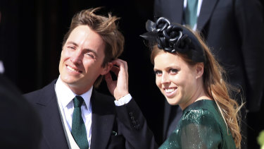 Britain's Princess Beatrice has given birth to a baby girl, her first child with husband Edoardo Mapelli Mozzi.
