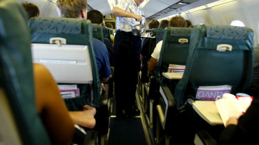 Questions have been raised about the cleaning of domestic flights