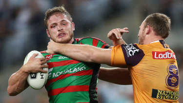 George Burgess has been a stalwart for South Sydney in recent years, but is his time up?