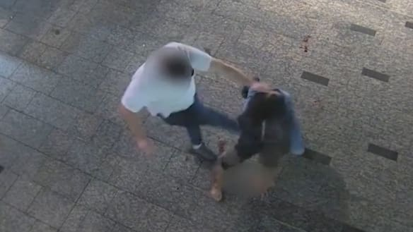 The incidents caught on Brisbane's 24-hour cameras