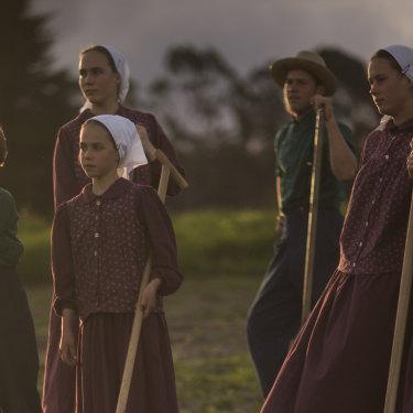 McCallum children Caleb, Esther, Mary, John, Hannah and Elizabeth.