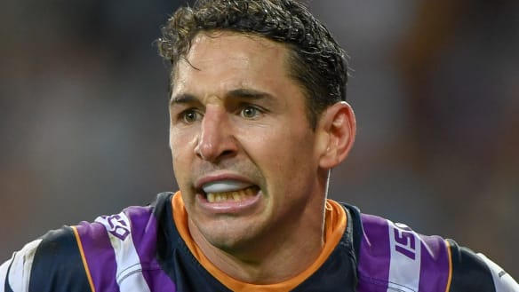 Billy Slater is an icon - but the NRL has a more serious duty
