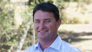 Andrew Schier, the Nationals candidate for Barwon, hopes to extend his party's grip on the state's largest seat.