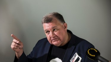 Let them not eat cake: Liberal MP Craig Kelly.
