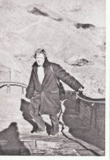 Edmund Capon at the Great Wall of China in 1972.