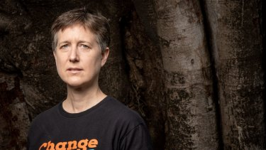 ACTU secretary Sally McManus has had to delay her speech to workers at the ABC.