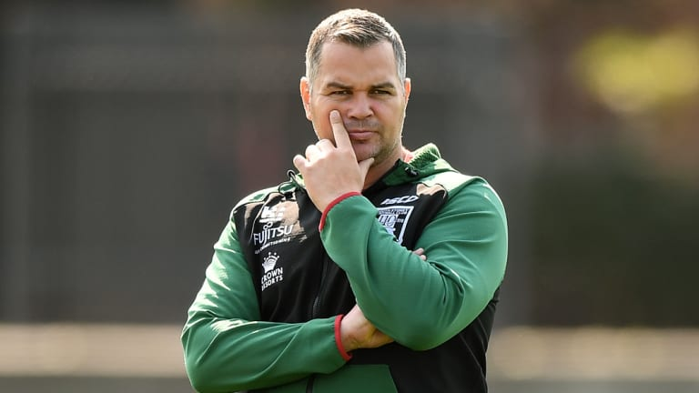 Dubious: Brisbane great Glenn Lazarus has questioned whether Anthony Seibold is the right choice for the Broncos.