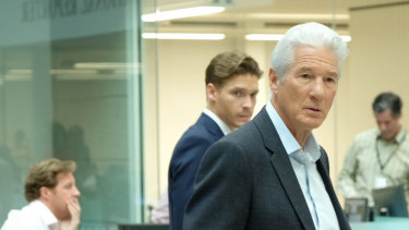 Richard Gere as unflappable media owner Max in MotherFatherSon.
