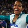 Watch Cathy Freeman's gold-medal winning race in full