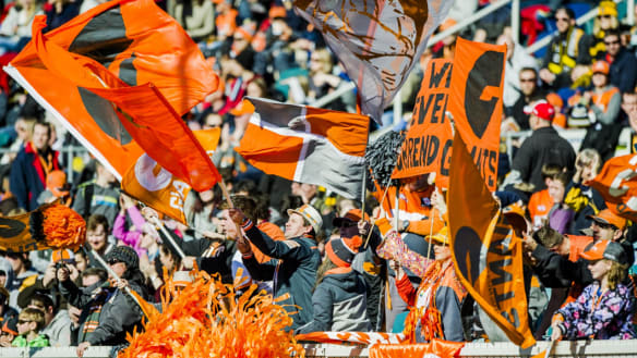 GWS Giants say Canberra fans 'deserve better' at Manuka Oval