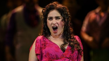 Rinat Shaham plays the title role in Opera Australia's Carmen, a character who meets a grisly end.