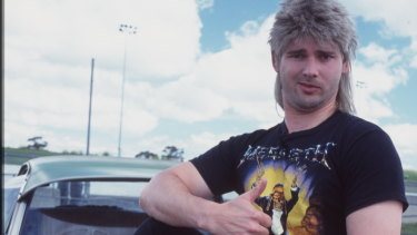 Eric Bana back in the Full Frontal days before Samantha Bee took the title Full Frontal.