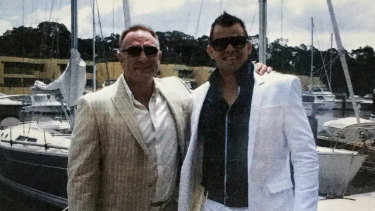 Craig Haeusler (left) with Owen Hanson in Sydney in 2011.