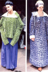 Comme des Garcon's 1996 Winter collection.