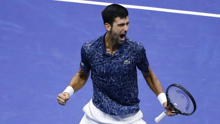 Favourite: Novak Djokovic is widely tipped to add to his growing grand slam collection.