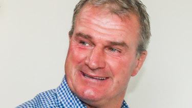 Disqualified trainer Darren Weir.