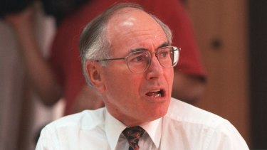 John Howard, as opposition leader, gave a series of speeches on national identity in 1995.