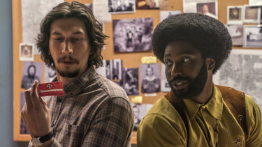 Spike Lee, nominated for best director for BlacKkKlansman (pictured), is only the sixth black director to earn a directing nomination in Oscar's 91-year history.