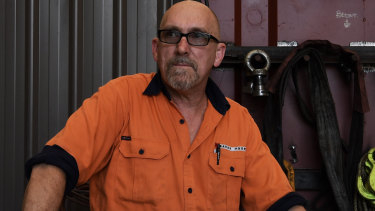 Andrew Tree spent 31 years in the coppersmith trade and although it's hard work, he loves the job satisfaction.