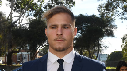 Dragons player Jack De Belin committed to stand trial on five charges of sexual assault