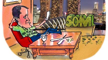 CBD Melbourne: A peek over Alex's hedge (fund)