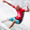 Kelly Slater makes a splash in Sydney as Olympic bid gathers pace